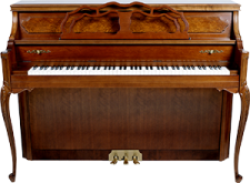 piano droit S